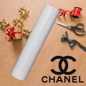 CHANEL Wrapping Paper Roll Emblematic CC Logo